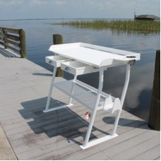 """C&M 4-Leg Rough Water Deluxe Fish Cleaning Station, 50"""""""