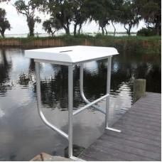 "C&M 2-Leg Sea-Line Fish Cleaning Station, 40"""
