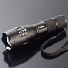 5-Mode CREE Q5 Tactical Flashlight, Waterproof